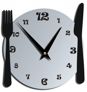 """Часы """"Нож и вилка"""""""