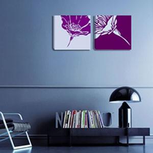 """Картина диптих """"Цветы"""""""