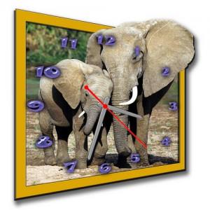 """Часы """"Слоны"""""""