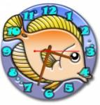 """Часы """"Рыба 1"""""""