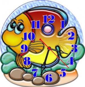 """Часы """"Рыба 2"""""""