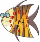 """Часы """"Рыба 3"""""""