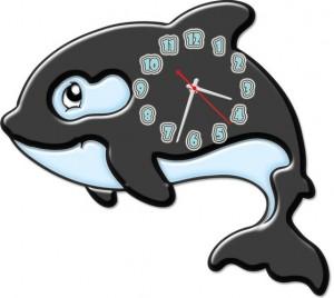 """Часы """"Дельфин"""""""