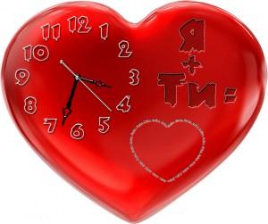 """Часы """"Сердце 2"""""""