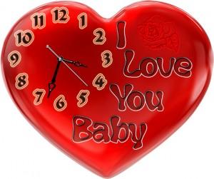 """Часы """"Сердце 3"""""""
