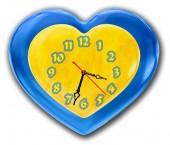 """Часы """"Сердце 4"""""""