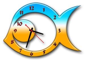 """Часы """"Рыба 7"""""""