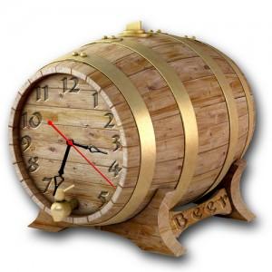 "Часы ""Бочка с пивом"""