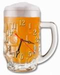 """Часы """"Бокал пиво"""""""