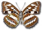 """Часы """"Бабочка коричневая 2"""""""