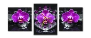 """Часы """"Орхидея 1"""""""