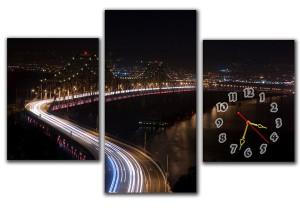 """Часы """"Мост"""""""