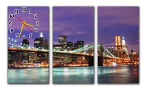 "Часы ""Мост Rainbow Bridge"""