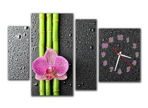 """Часы """"Орхидея 2"""""""