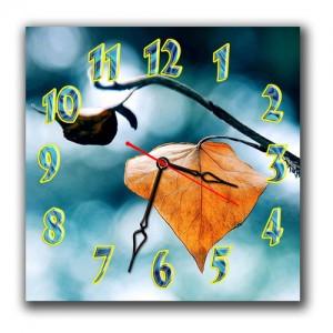 "Часы ""Осенний лист"""