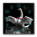 """Часы """"Лебедь"""""""