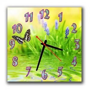 """Часы """"Одинокая бабочка"""""""