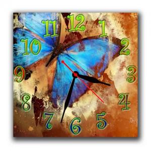 "Часы ""Синяя бабочка"""