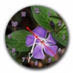 """Часы """"Нежный цветок"""""""