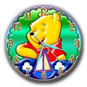 """Часы """"Вини пух с корабликом"""""""