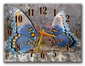 "Часы ""Пара бабочек"""