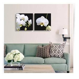 """Картина диптих """"Белая орхидея"""""""