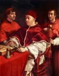 Папа Лео Х с двумя кардиналами