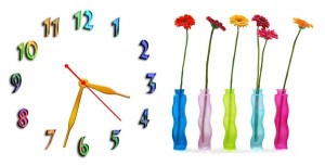 """Часы """"Цветы"""""""