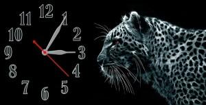 """Часы """"Белый тигр"""""""