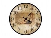 """Настенные часы """"Дама"""""""