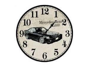 """Настенные часы """"Mercedes-Benz 600"""""""