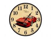 """Настенные часы """"Ferrari 288 GTO"""""""