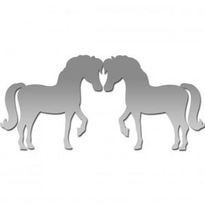 """Зеркало """"Две лошади"""""""