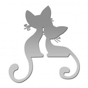 "Зеркало ""Два кота"""