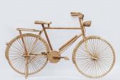 Велосипед из ротанга